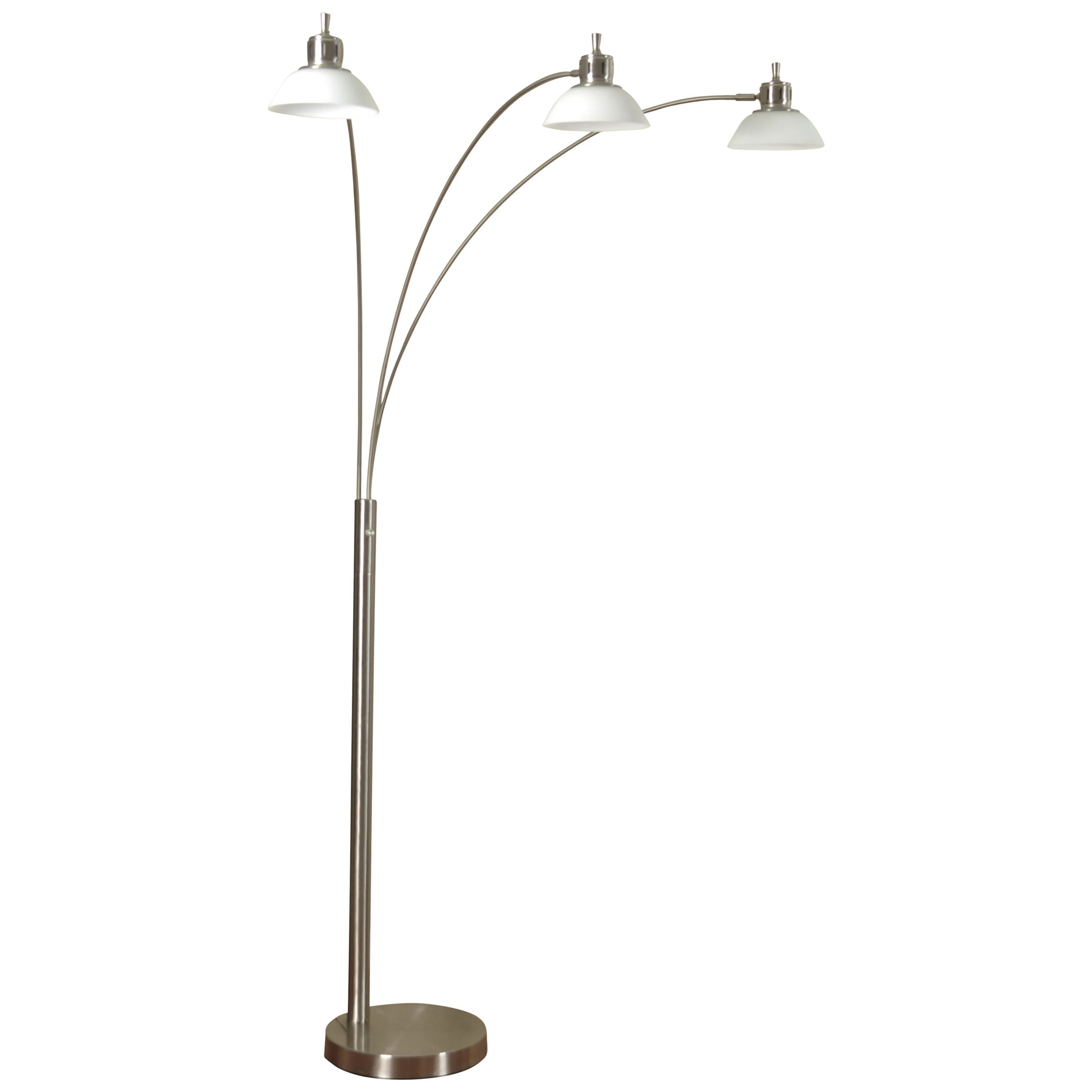 Stylecraft Lamps Triple Arm Arch Lamp Value City
