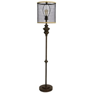 StyleCraft Lamps Industrial Floor Lamp