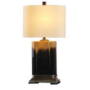 StyleCraft Lamps Bronze Glazed Ceramic Lamp