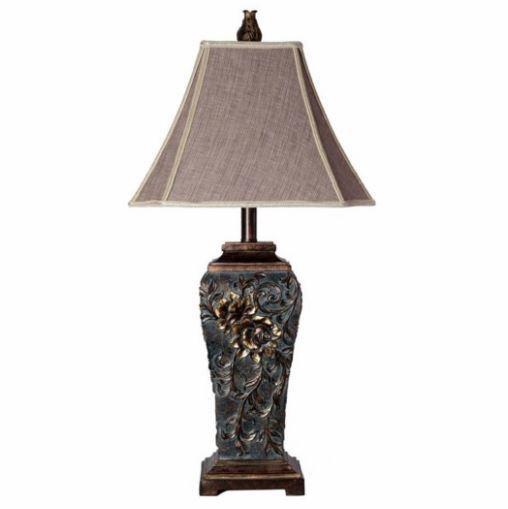 Vine Carved Lamp