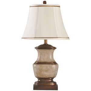 StyleCraft Lamps Crackle Bronze Lamp