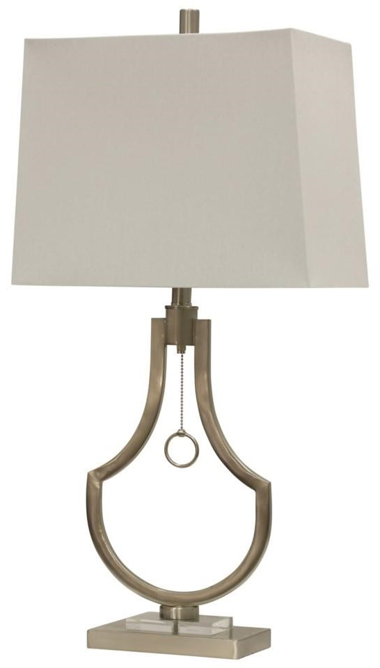 Stylecraft lamps l314119 brushed steel table lamp dunk bright stylecraft lamps brushed steel table lamp item number l314119 aloadofball Image collections