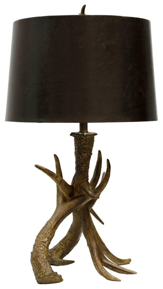 StyleCraft Lamps Antlers Table Lamp   Item Number: L36613