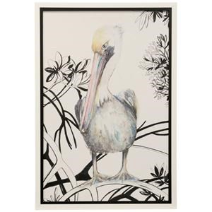 StyleCraft DW Pelican on a Branch Wall Art
