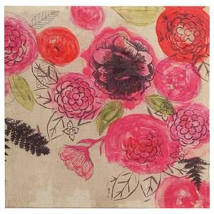 StyleCraft Wall Décor Acrylic Flowers on Canvas