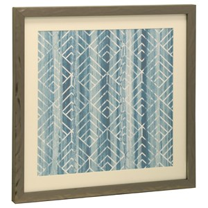 StyleCraft Wall Décor Bryan Keith Blue and White Print