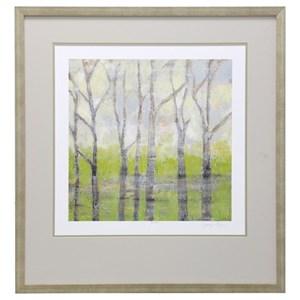 StyleCraft Wall Décor Birch Trees in Spring