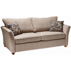 Stylus 2104 Contemporary Stationary Sofa