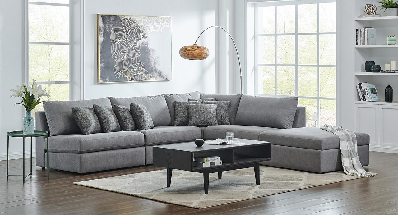 9855 DD 5 Pc Modular Sectional by Lewis Home at Stoney Creek Furniture