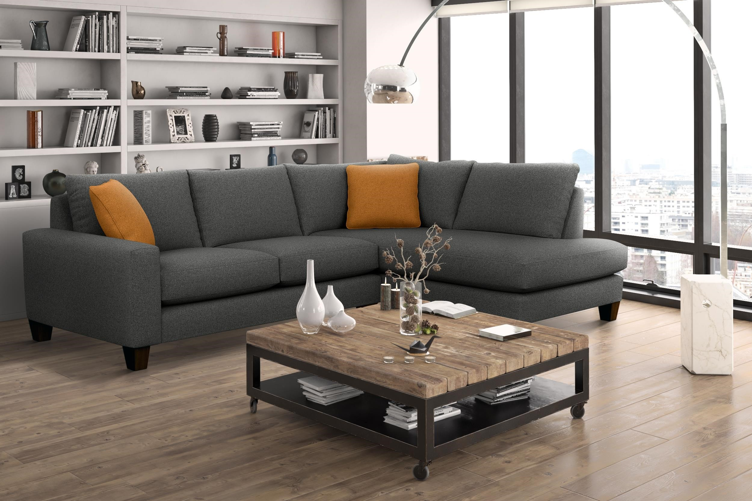 7711 2 Piece Sectional by Lewis Home at Stoney Creek Furniture