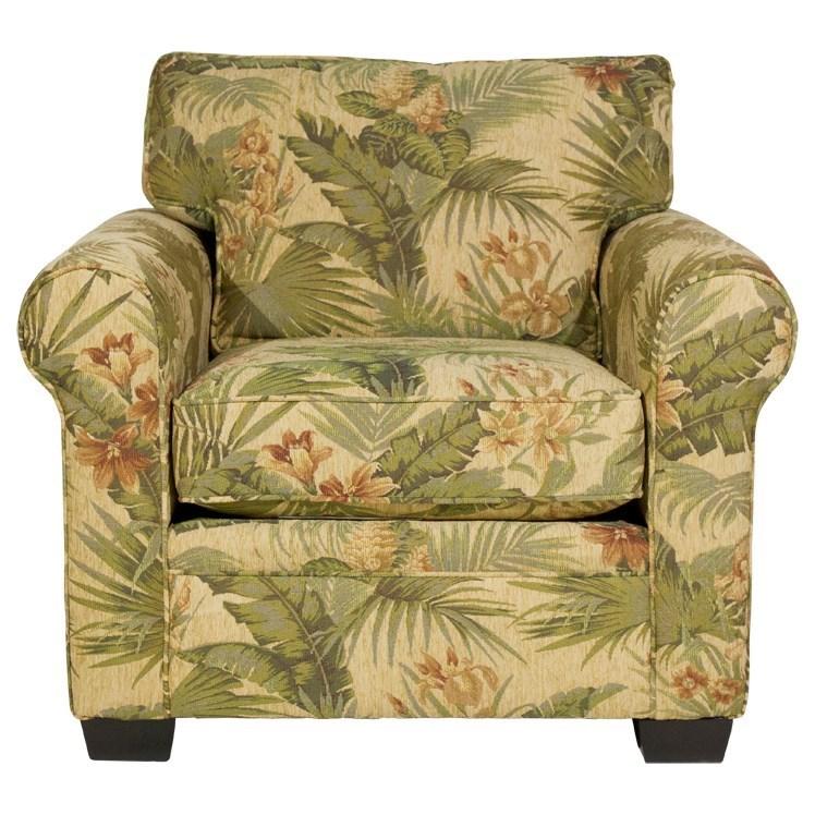 Stylus Diaz Chair - Item Number: Diaz Chair- Breeze Macadamia