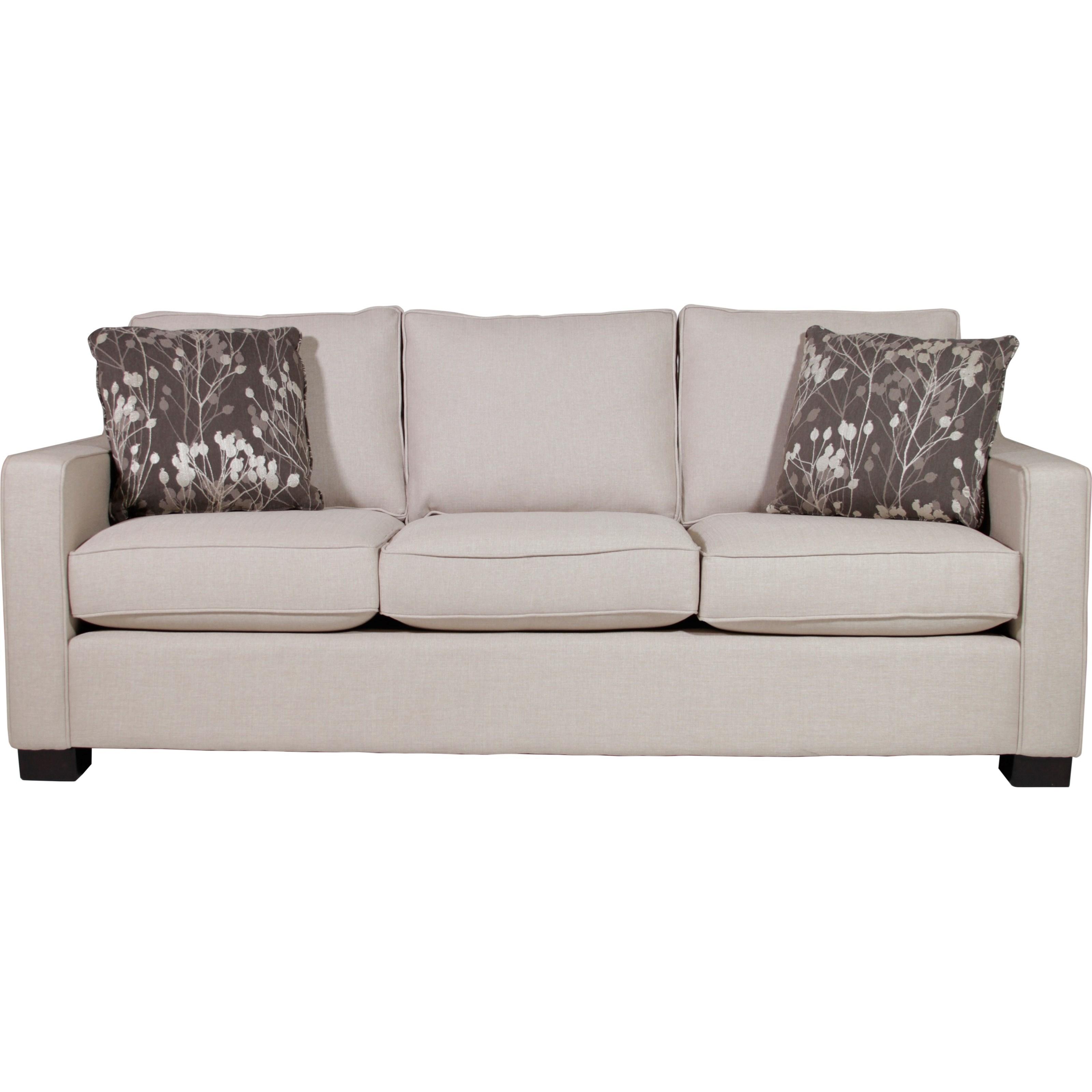 Stylus Metro  Sofa - Item Number: Metro Sofa-PoloOyster