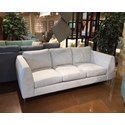 Stylus 7704 Contemporary Sofa with Metal Legs
