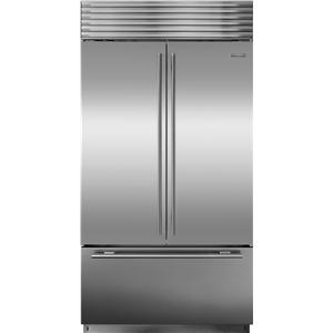 Sub-Zero Built-In Refrigeration Over-and-Under Refrigerator with French Door