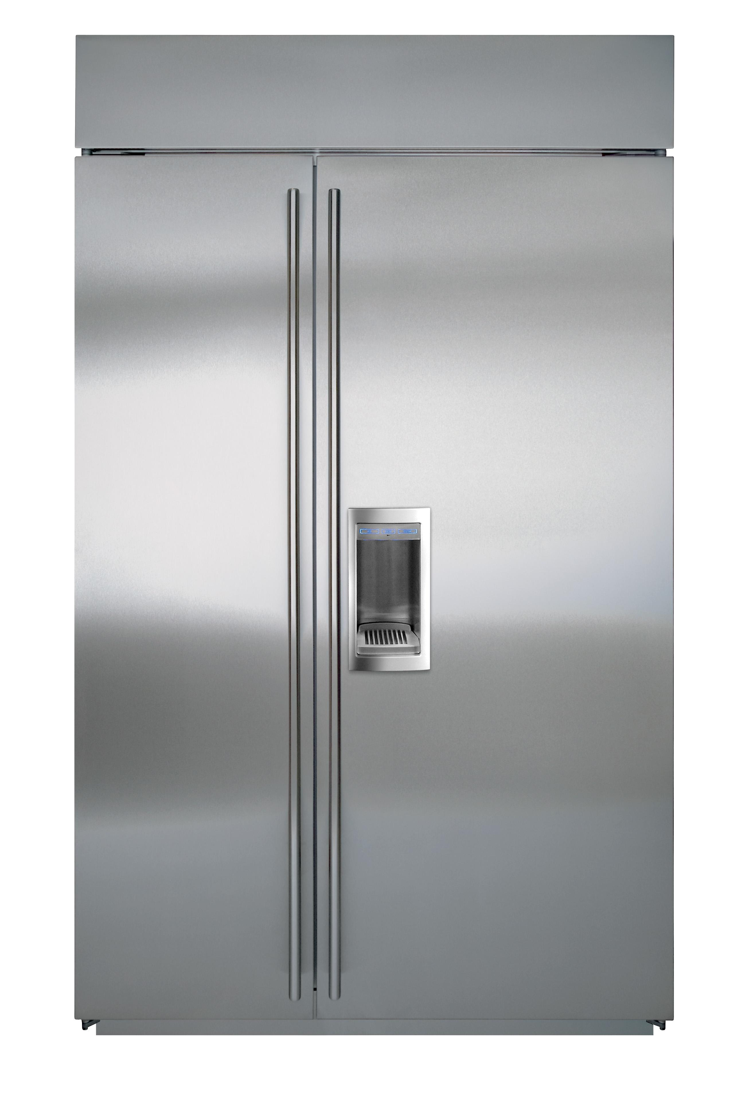 Sub Zero Bi 48sd48 Quot Side By Side Refrigerator With