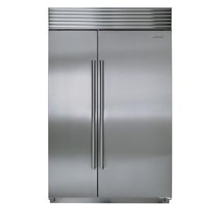 "Sub-Zero Built-In Refrigeration 48"" Side-by-Side with Refrigerator"