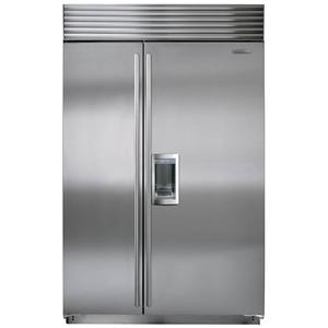 Sub-Zero Built-In Refrigerators 28.3 Cu. Ft. Side-by-Side Refrigerator