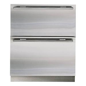 Sub-Zero Undercounter Refrigeration 5.1 Cu. Ft. Integrated Freezer Drawers