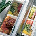 Sub-Zero Undercounter Refrigeration ENERGY STAR® 5.3 Cu. Ft. Integrated Refrigerator Drawers  - Removable Crisper On Upper Refrigerator Drawer