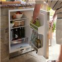 "Sub-Zero Undercounter Refrigeration ENERGY STAR® 5.7 Cu. Ft. Undercounter Refrigerator Approved for Outdoor Use  - Conveniently Placed Outdoors Thanks to ""Point-Of-Use"" Technology"