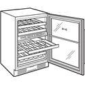 Sub-Zero Wine Storage 46 Bottle Freestanding Wine Storage - Sturdy, Rustproof Shelves