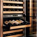 Sub-Zero Wine Storage 132 Bottle Integrated Wine Storage - Illuminated Display Shelf