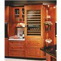 Sub-Zero Wine Storage 78 Bottle Wine Storage with 2 StorageDrawers - Integrate into Any Kitchen