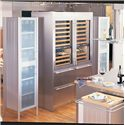 Sub-Zero Wine Storage 78 Bottle Wine Storage with 2 StorageDrawers - Available with Stainless Steel Panels