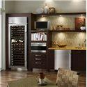 Sub-Zero Wine Storage 147 Bottle Built-In Wine Storage - Shown in Classic Stainless Steel Option