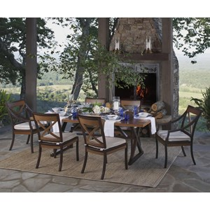 Summer Classics Belize 7 Piece Outdoor Dining Set