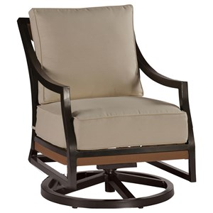 Summer Classics Belize Belize Swivel Rocking Lounge Chair