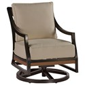 Summer Classics Belize Belize Swivel Rocking Lounge Chair - Item Number: 422817