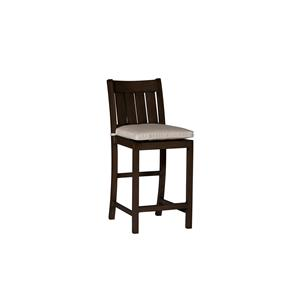 "Summer Classics Club Aluminum Club 24"" Outdoor Barstool"