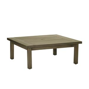 Summer Classics Club Aluminum Club Square Coffee Table With Hole