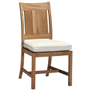 Summer Classics Club Teak Side Chair