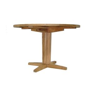 Summer Classics Club Teak Outdoor Dining Table with 48'' Round Top
