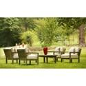 Summer Classics Club Teak Club Outdoor Coffee Table