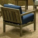 Summer Classics Club Teak Club Lounge Chair
