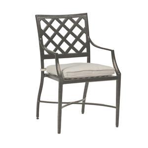Summer Classics Lattice Lattice Outdoor Arm Chair
