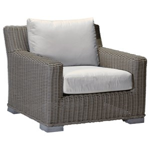 Summer Classics Rustic Rustic Lounge Chair