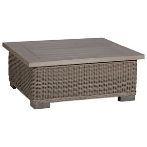 Summer Classics Rustic Rustic Coffee Table