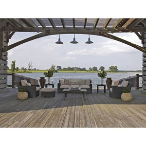 Summer Classics Rustic Outdoor Conversation Set