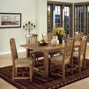 Sunny Designs Sedona 7 Piece Dining Set