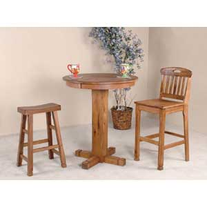 Sunny Designs Sedona 3 Piece Bar Set