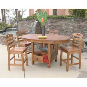 Sunny Designs Sedona 5 Piece Dining Set