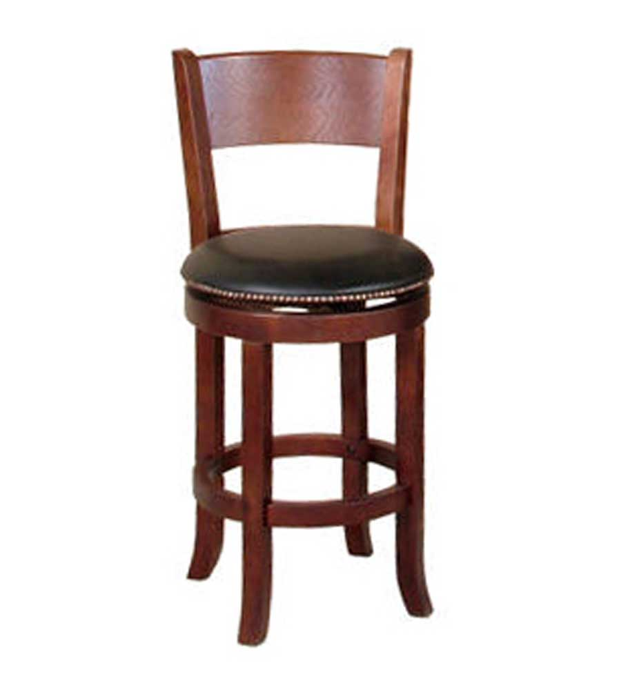 Sunny Designs Cappuccino Swivel Barstool - Item Number: 1882