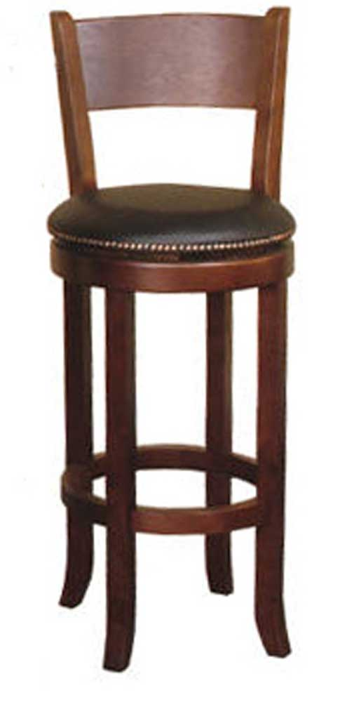 Sunny Designs Cappuccino Swivel Barstool - Item Number: 1883