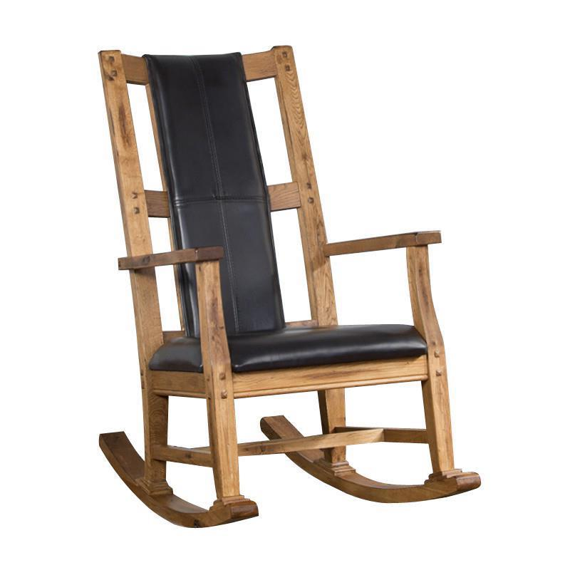 Morris Home Furnishings Santa Clara Santa Clara Wood Rocker with Cushion - Item Number: 293099023