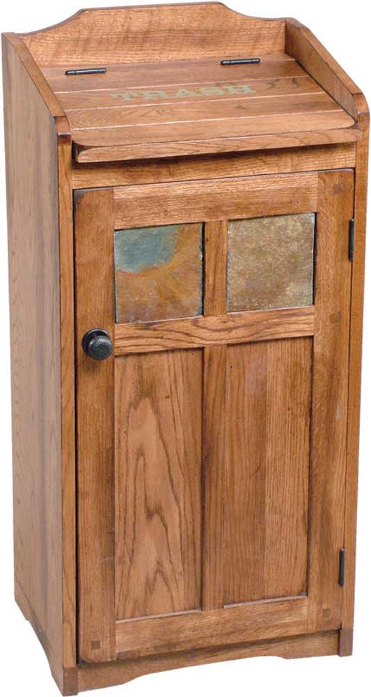 Morris Home Furnishings From Morris Home Furnishings - Winston Trash Bin - Item Number: 2110-RO
