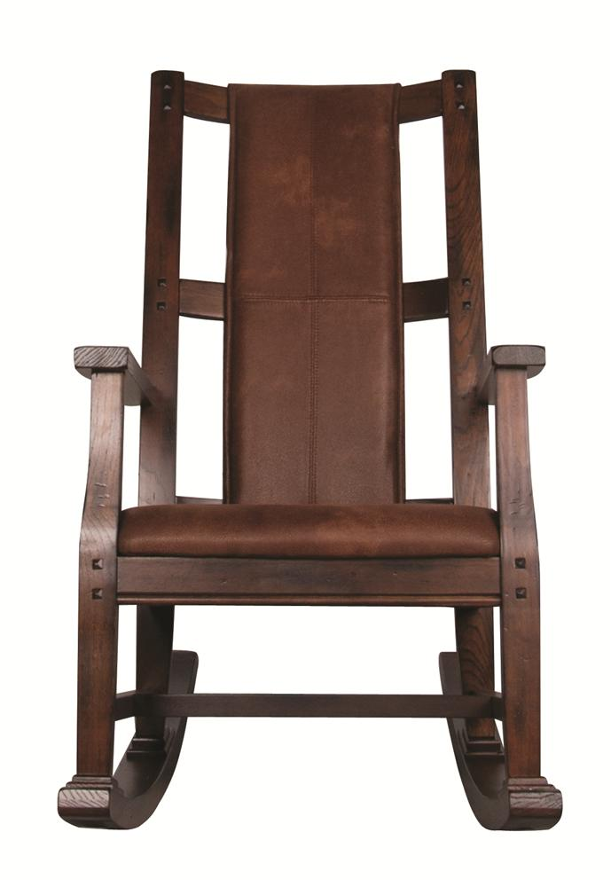 Market Square Santa Clara Santa Clara Wood Rocker with Cushion - Item Number: 293084516